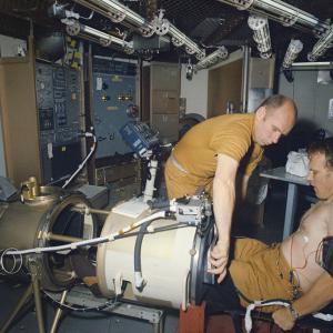 Skylab simulation known as SMEAT in 1983