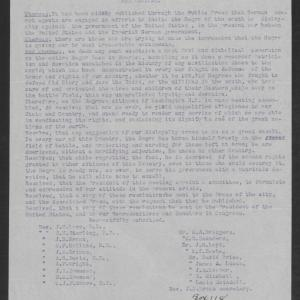 Resolution by the African American Citizens of Washington, N.C., April 1917