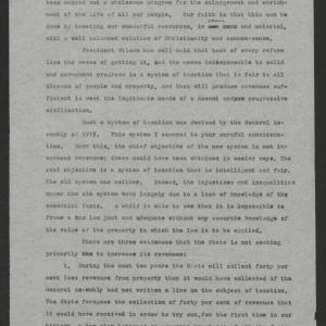Address Before the Teachers' Assembly by Governor Thomas W. Bickett, November 28, 1919, page 1